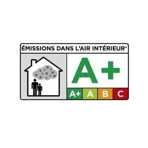 Qualité de l'air intérieur A+